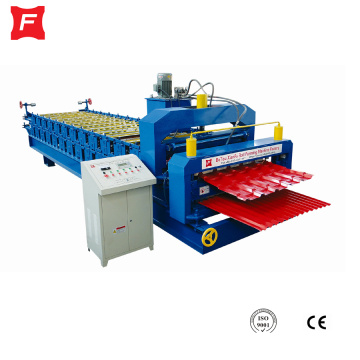 Turkish style double layer roof forming machine