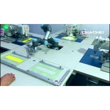 Automatic Dual color Sewing Machine with double needles