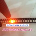 1000PCS SMD Led 3528/1210 Orange/amber Smd/smt Plcc-2 High Quality Ultra Bright Light-emitting Diode free Shipping