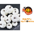 12Pcs Simulation Small Pumpkin Foam Mini Halloween White Pumpkin DIY Craft Artificial Pumpkin Party Wedding Decor Supplies
