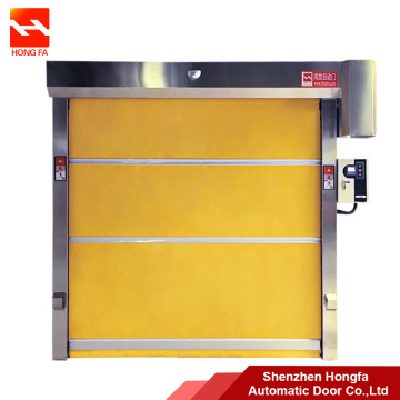 Steel Automatic Roller Shutter PVC High Speed Door