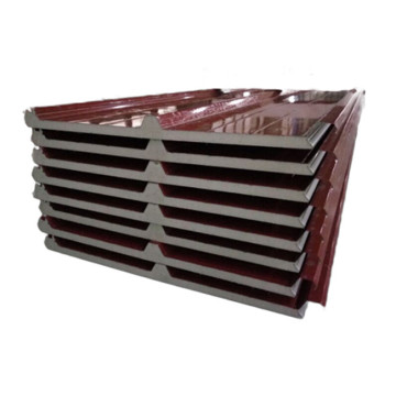 insulated metal sandwich walls panels 2 cm for heating