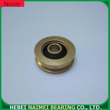U groove pulley for sliding door wheel