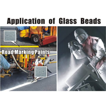 Cleaner Abrasive Sand Blasting Glass Beads