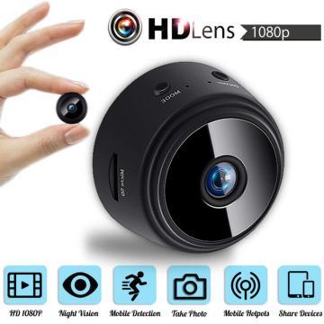 QZT Mini IP Camera HD 1080P Infrared Night Vision Mini Camcorders Wide Angle Small DVR Video Camera WIFI Wireless Micro Camera
