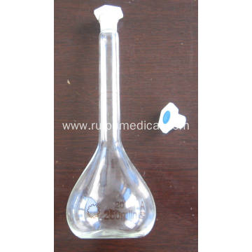 VOLUMETRIC FLASK with ONE GRADUATION MARK