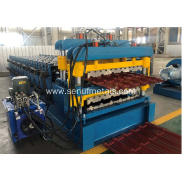 Auto sandwich panel sheet double layer forming line