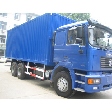 Shacman box truck with weichai engine China 6x4 van truck
