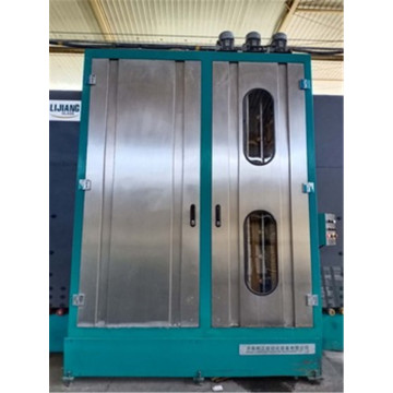 Glass washing machine for IG line