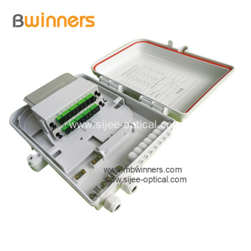 Wall-Mounted Fiber Splitter Distribution Box FDB-16