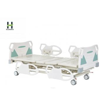 Medical two-function manual bed