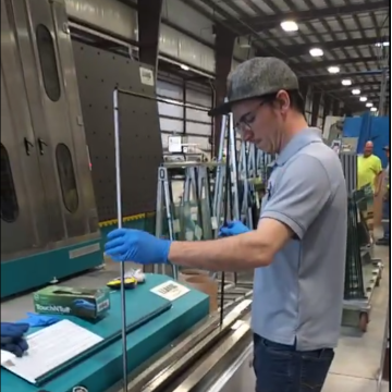 Insulated Glass Line With Filling Argon Gas