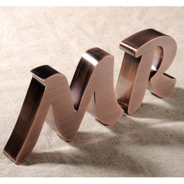 Custom Aluminum Letters Home Decor