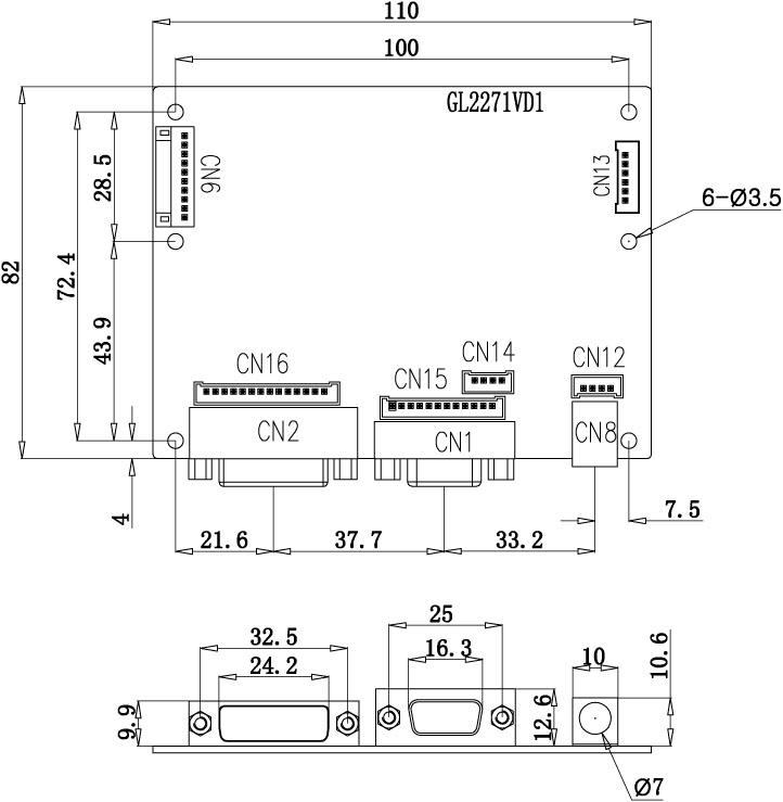 Dvi Input Lcd Controller Drawing