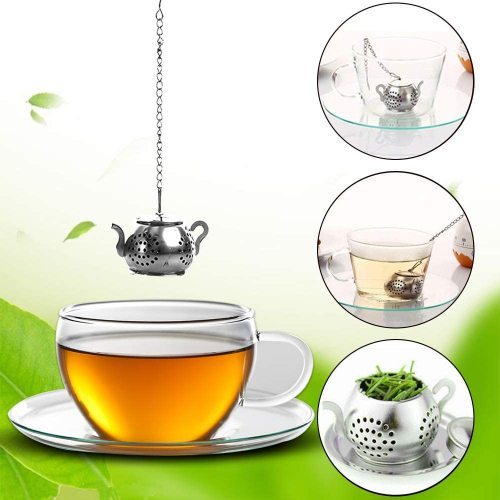 Stainless Steel Tea Strainer Cute Kitchen Tool