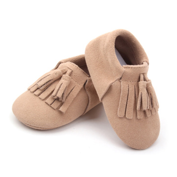 suede leather baby soft sole shoes