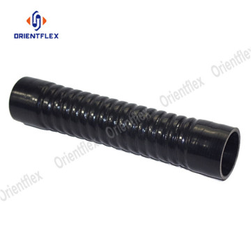 Flexible silicone corrugated radiator hoses