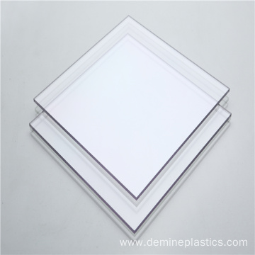 Durable plastic protective panel flame retardant