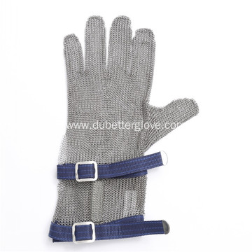 Anti Cutting Chainmail Mesh Gloves