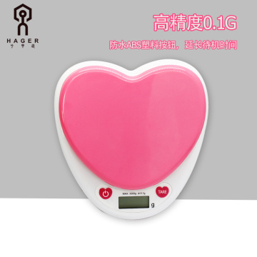 Pink Kitchen Electronic Scale