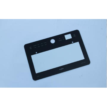 Rectangular Black frame oven Tempered Glass