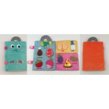 Cloth Refrigerator Book for Baby