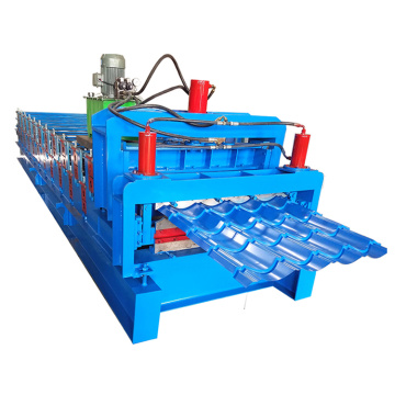 Glazed IBR Sheet Double Layer Roll Forming Machine