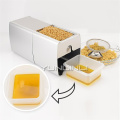 Automatic Oil Press Machine Cold Mini Olive Peanut Oil Soybean Presser Expeller household Oil Extractor HF-04