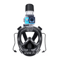 Dry Top Wide View Fullface Snorkel Mask