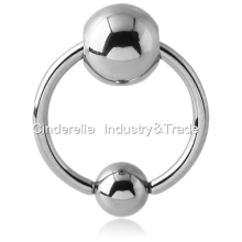316L Surgical Steel Ball Closure Ringbell
