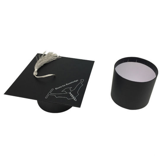 Custom Bachelor Cap Printed Paper Cardboard Packaging Box