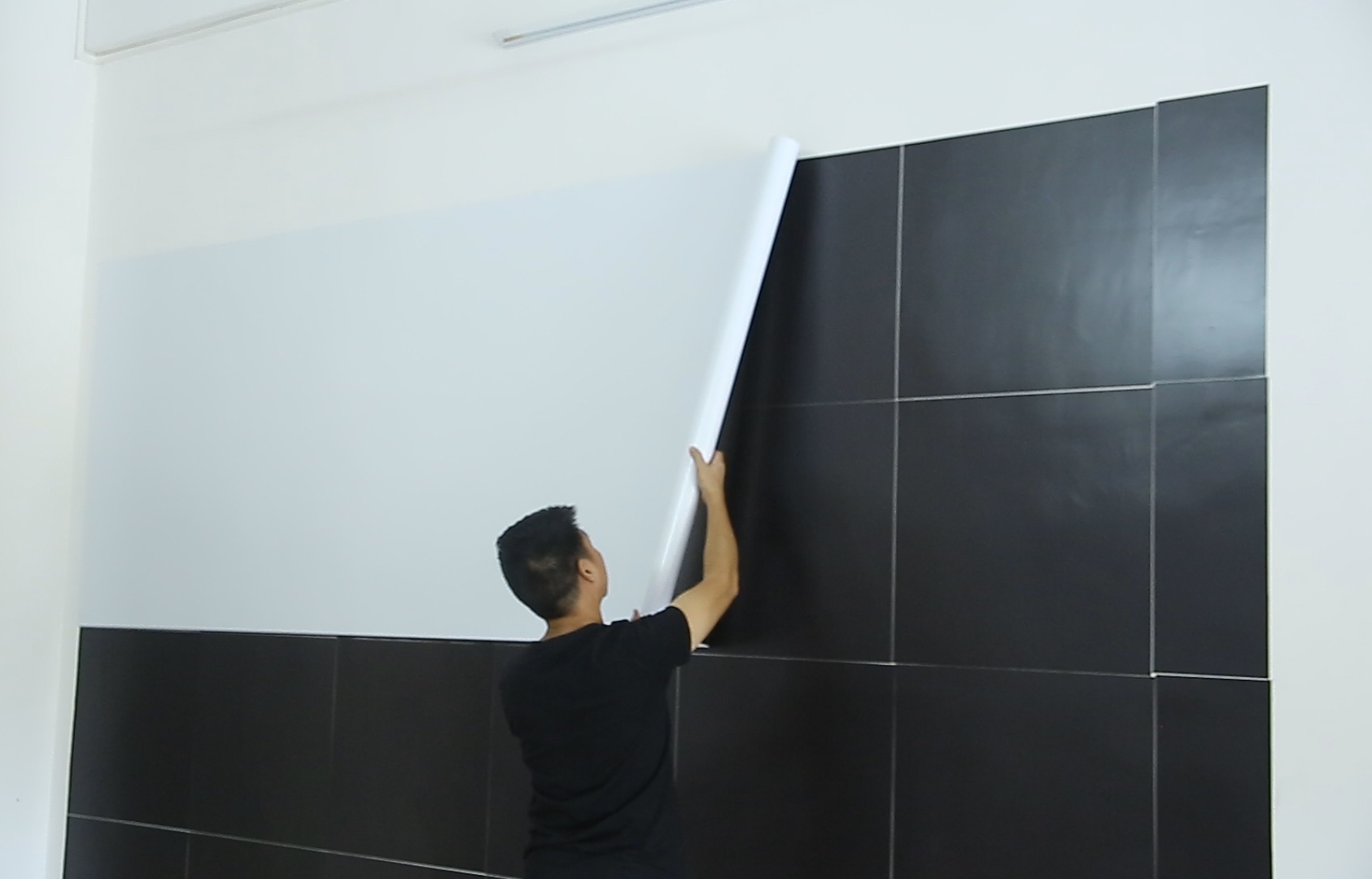Whiteboard installation