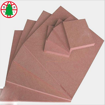 Chinese ttypes of wood red mdf fireproof