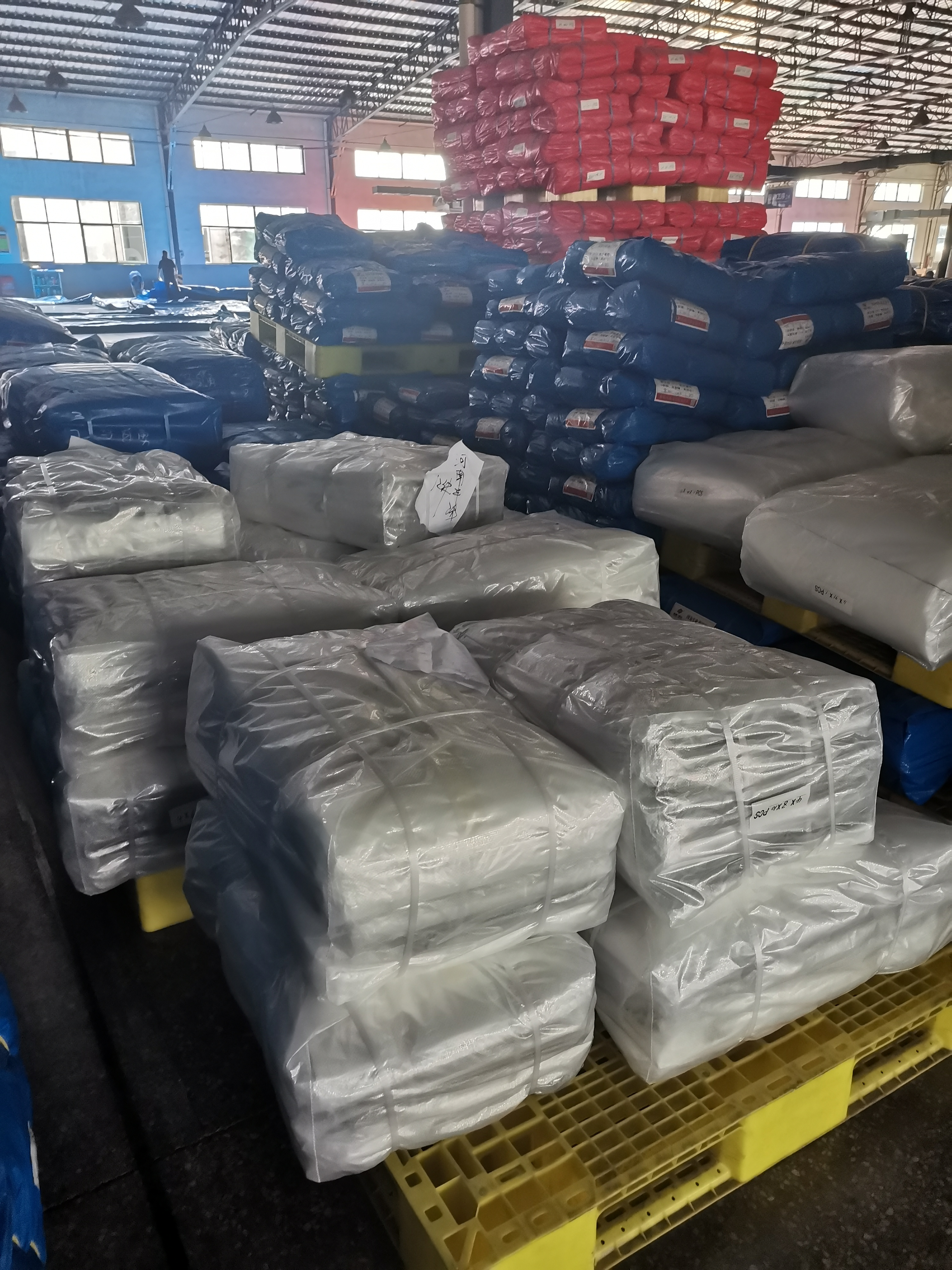 Tarpaulin Packing
