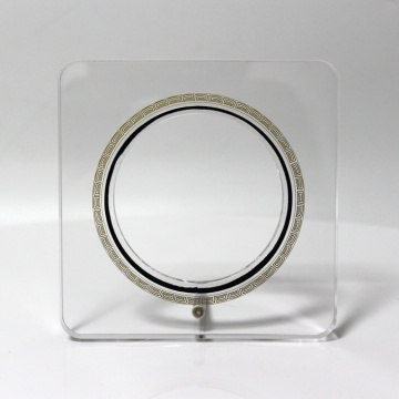 APEX Transparent Acrylic Souvenir Coin Collection Display