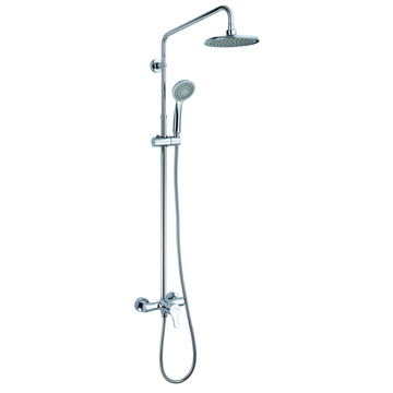 Brass Mixer Rainfall Head Shower System 3 Functions