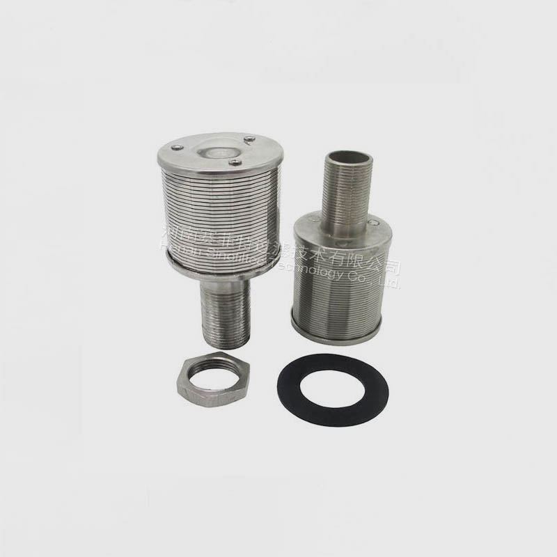 Stainless Steel  Wedge Wire Screen Filter Elements