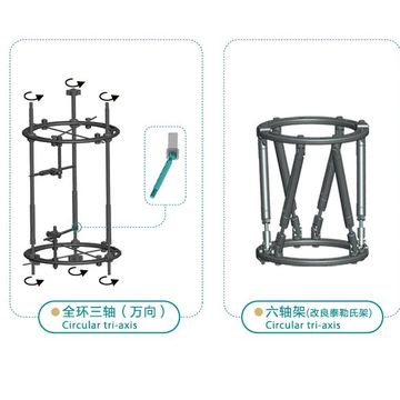 orthopedic tibial plateau frame external fixation