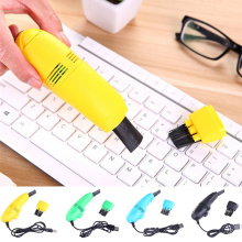 1PC USB Vacuum Cleaner for Cleaning PC Computer Laptop Car Home Cleaning Keyboard Tools Useful Office Computer Brushes Cleaners