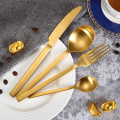 18/0 ONEIDA Gold Stainless Steel Cutlery