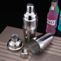 550ml 750ml Stainless Steel Cocktail Shaker Set