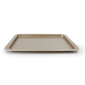 "14""Oblong shallow baking pan with wide sides"