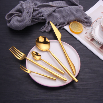 Gold Spoon Forks And Knives for Events