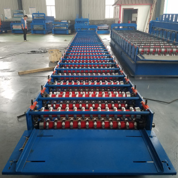 Color Steel Corrugated Profile Tile Roll Forming Machine