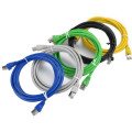 CAT5E RJ45 Shielded Ethernet Patch Cable Installation