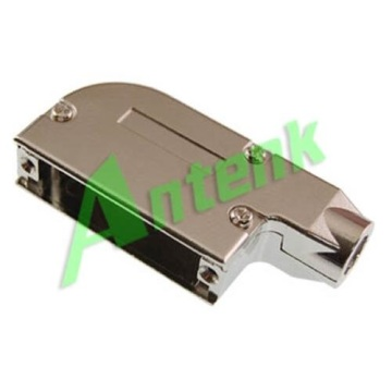 D-SUB Metal Hoods 25P Right Angle Ethernet Type
