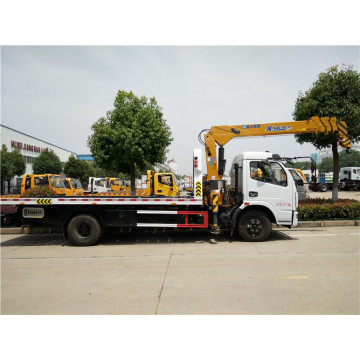 6 ton Dongfeng Tow Truck with Crane