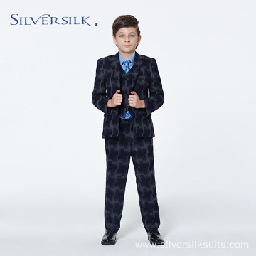 Custom Logo Wedding Party Wear Kids Boys Blazer