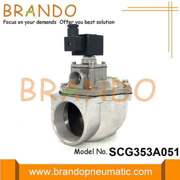 2.5'' Baghouse ASCO Type Power Pulse Valve AC220V