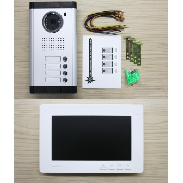 Color Wired Video Home Intercom Systems